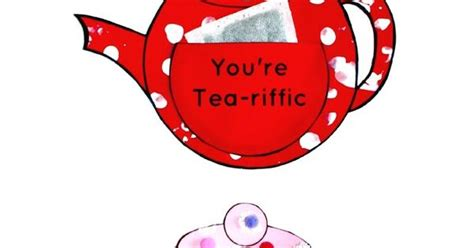 teapot craft youre tea riffic ideas  mothers day