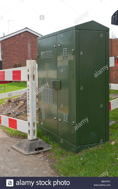 Bt Green Cabinet by Fttc Stock Photos Fttc Stock Images Alamy
