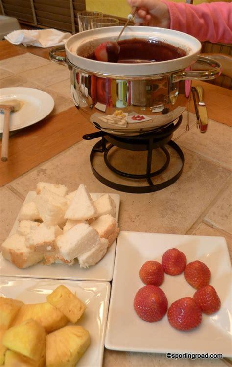 fondue pot recipes sporting road the original melting pot chocolate fondue recipe