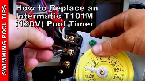 How Replace Intermatic Pool Timer Youtube