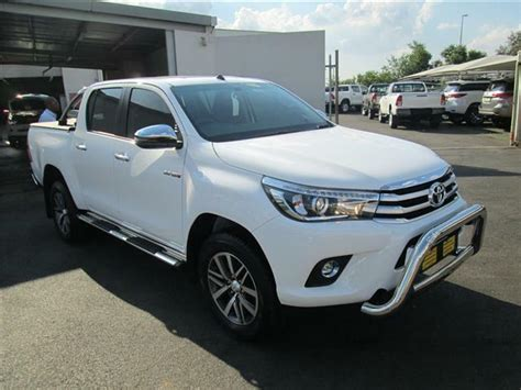brand new 2018 toyota hilux 2 8 gd 6 d cab manual 4x2 rb for sale lenasia gumtree