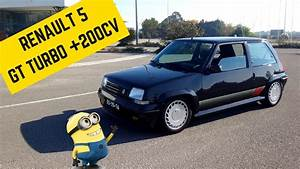 200hp Renault 5 Gt Turbo - Portugal Stock And Modified Car Reviews