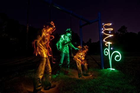 light painting photography tutorial the dream within