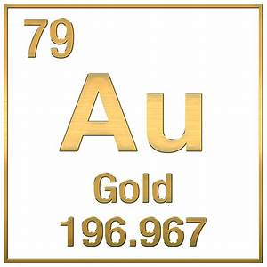 What Is The Periodic Symbol For Gold