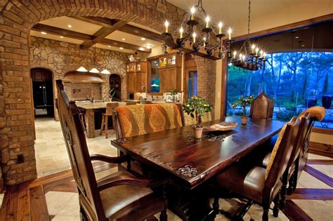 tuscan dining room design