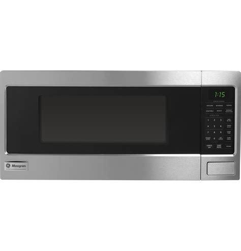 monogram  cu ft countertop microwave oven zemsfss ge appliances