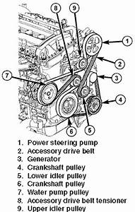 2009 Chrysler Sebring 2 4 Serpentine Belt Diagram