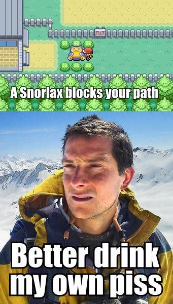 My Own Meme - image 166662 bear grylls better drink my own piss know your meme