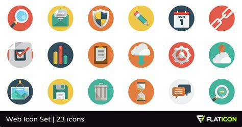 Web Icon Set 23 Free Icons (svg, Eps, Psd, Png Files