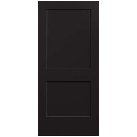 home depot jeld wen interior doors jeld wen 36 in x 80 in smooth 2 panel black solid