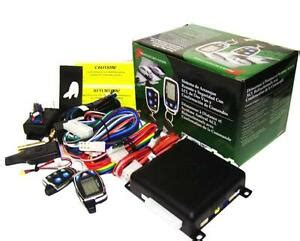 audiovox aps997e car prestige 2 way remote start keyless entry and security syst ebay