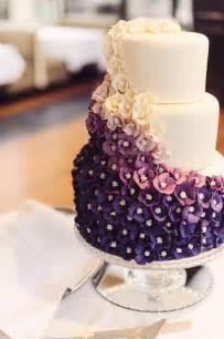 purple wedding cake purple wedding beautiful ombre purple wedding cake 2058599 weddbook