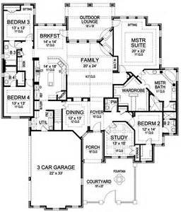 single story house floor plans single story luxury house plans smalltowndjs