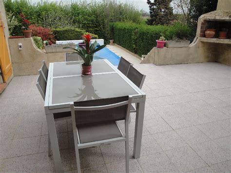 table chaise de jardin salon de jardin 6 chaises table à rallonge extensible 150