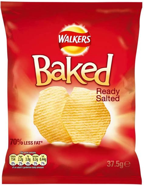 walkers ready baked salted 5g crisps