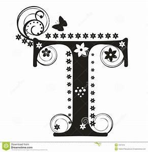 Decorative Letter t Clipart (43+)