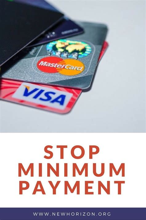 Here's an example of how the minimum payment calculation might be written in your card's terms: Why You Should Never Pay Just the Minimum Amount Required ...