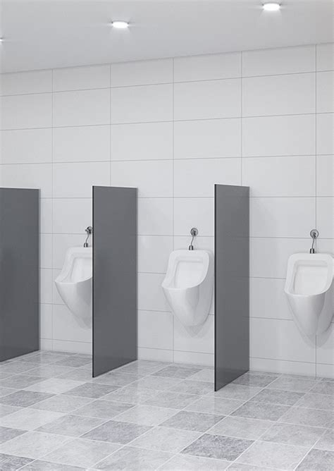 Urinal / Privacy Screen ? Floor Mounted ? TPI Commercial