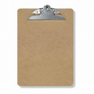 Amazoncom officemate wood clipboard letter size for Letter size clipboard