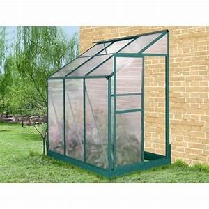 Serre En Polycarbonate Ou En Verre : serre jardin ~ Premium-room.com Idées de Décoration