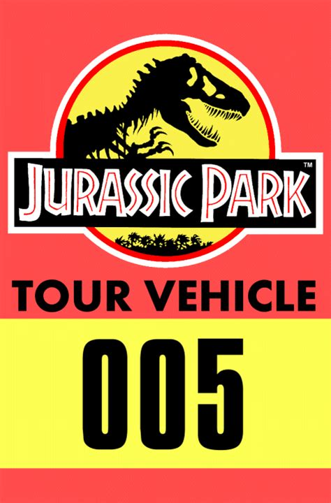 Related Of Jurassic Park Printable Name Badge