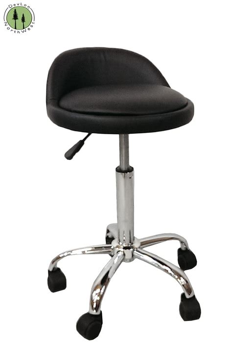 Rolling Stool by Manicure Pedicure Salon Spa Rolling Adjustable