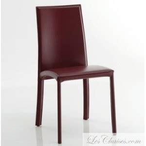chaise en cuir de salle a manger barbara et chaise mobilier salle a manger en cuir design italien