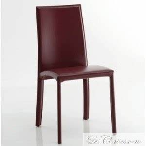 chaise en cuir de salle a manger barbara et chaise With meuble de salle a manger avec chaise salle a manger cuir