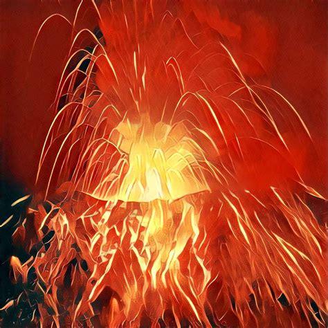 vulkanausbruch traum deutung