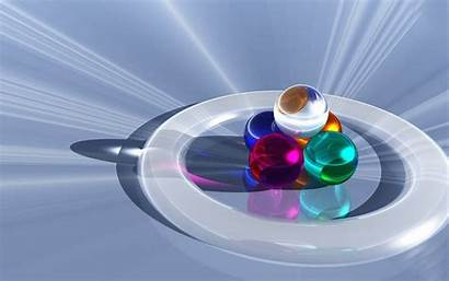 3d Colorful Creative Wallpapers Backgrounds Balls Super