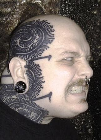 scary paul booth tattoos