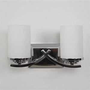 yosemite home decor vanity lighting family 2 light chrome With chrome letters home decor