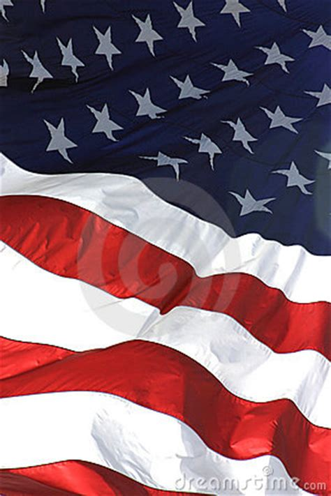 american flag vertical view royalty  stock