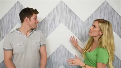 how to paint a chevron wall painting lines