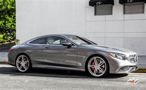 Mercedes-benz S65 Amg Coupe With Staggered 22