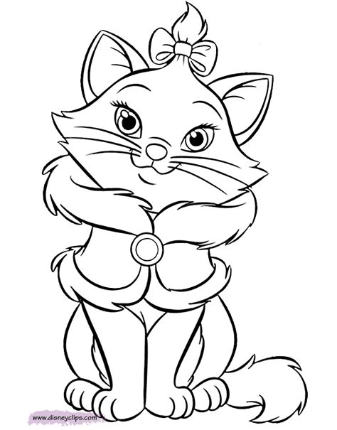 Kleurplaat Aristocats by The Aristocats Coloring Pages 2 Disney Coloring Book