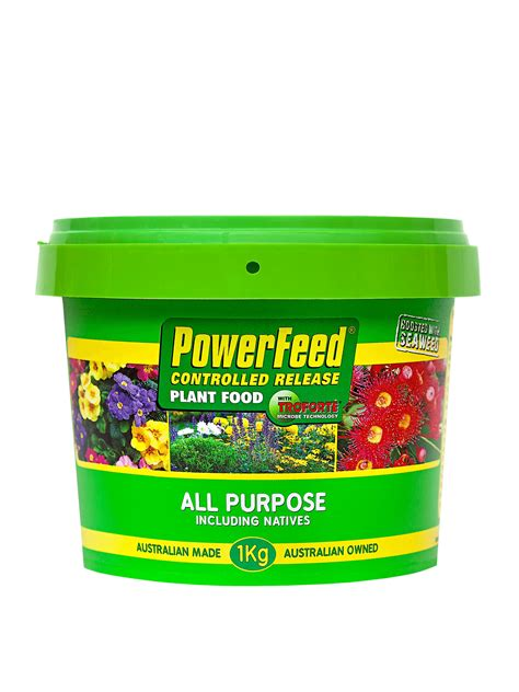 powerfeed  purpose including natives controlled release