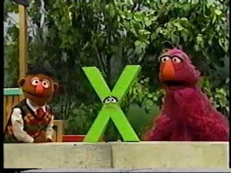 sesame letter x sesame the letter x feels useless 48482