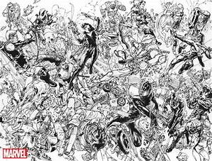 FIGHT! Artist Kim Jung Gi Covers CIVIL WAR II With Epic ...