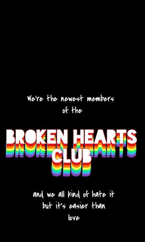 iphone wallpaper broken hearts club gnash edgy