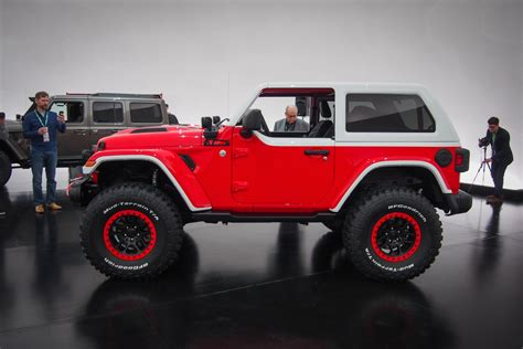 Jeep Safari Concept by Jeep Shows Seven Concepts For 2018 Easter Jeep Safari