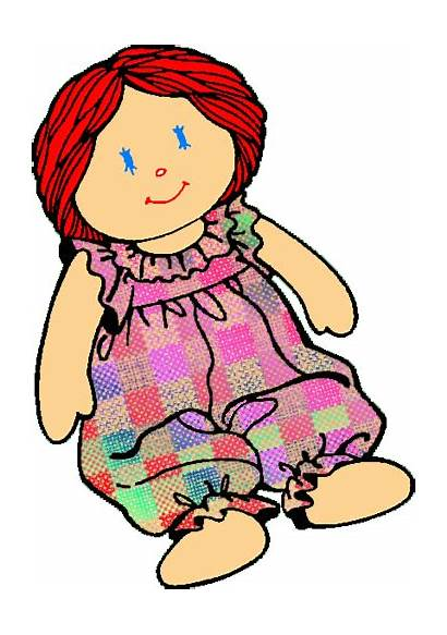 Rag Doll Clipart Clip Toy Dolly Cliparts