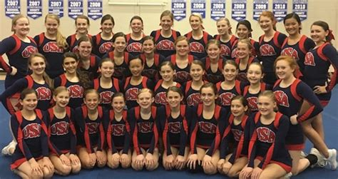 usa jr national cheer exhibition show support eastside middle
