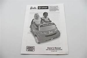 Power Wheels Barbie Smart Car Manual  T5407