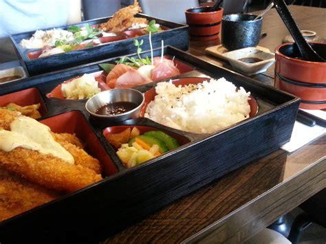 bento japanese cuisine a tasty bento ren japanese restaurant live in bne