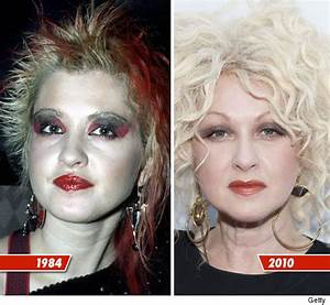 Cyndi Lauper | 80s music stars: Then and now | Pinterest ...