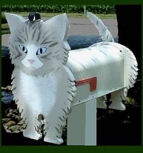 Gift Im Briefkasten : unique kitten cat mailbox a beautiful feline accent for home wood pinterest briefkasten ~ Eleganceandgraceweddings.com Haus und Dekorationen