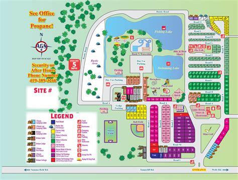 Petersburg, Michigan Campground  Monroe Co  Toledo