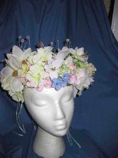 fairy tiara     flower crown jewelry making