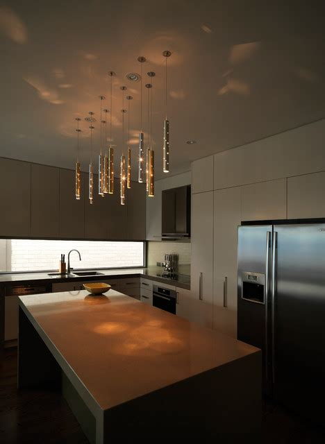 light drops 15 drops contemporary kitchen